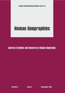 Human Geographies - Journal of Studies and Research in Human Geography